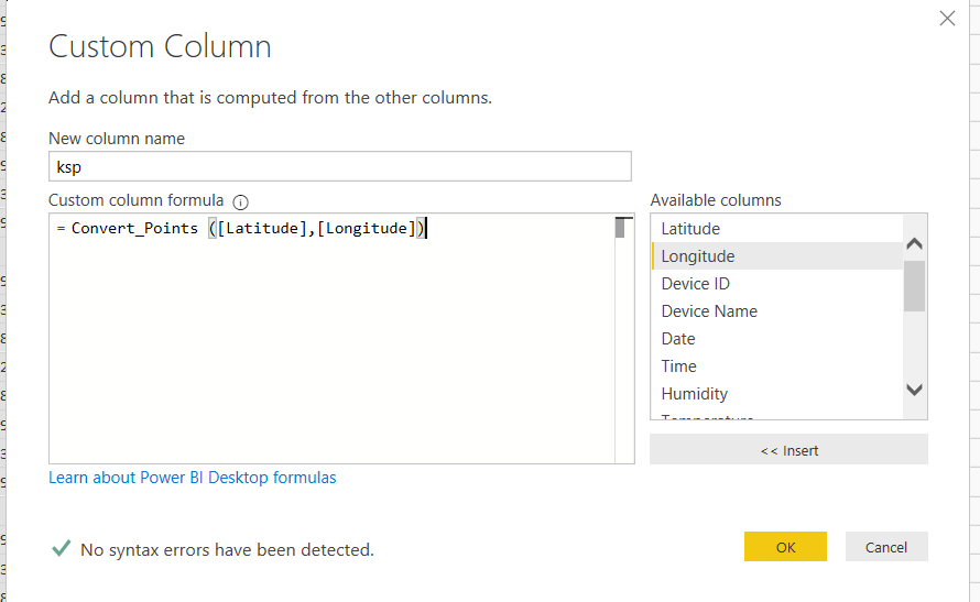 9 - Reverse GeoLocation in Power BI