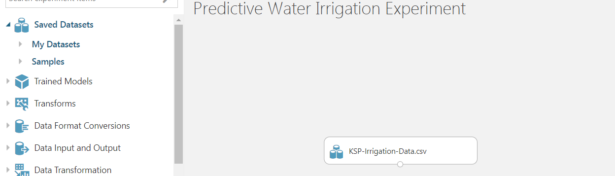 4 - Agriculture Water Irrigation - Predictive Analytics Using Microsoft Azure ML