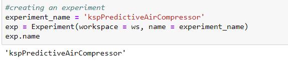 mlservice4 - Predictive Maintenance of Air Compressors using Azure ML Services