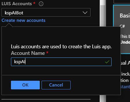 luis account - Working with Language Understanding Intelligent Service (LUIS)