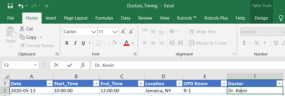 appointmentBlog - Auto Appointment Scheduling for Medical Practitioners